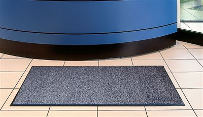 Tapis Entree Interieur Polypropylene 80x120 Cm Gris