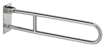 barre d 39 appui relevable 70cm chrome rossignol biska. Black Bedroom Furniture Sets. Home Design Ideas