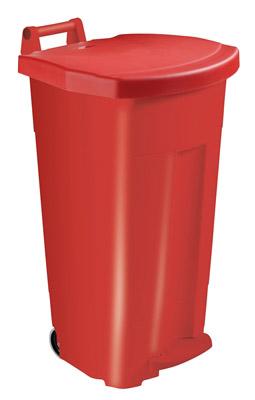 poubelle tri s lectif cuisine rossignol 90 l rouge. Black Bedroom Furniture Sets. Home Design Ideas
