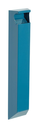 Cendrier exterieur rossignol mural 3l bleu azur for Cendrier mural rossignol