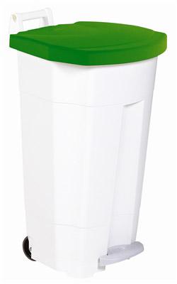 Poubelle de cuisine rossignol haccp 90 litres vert - Poubelle cuisine verte ...