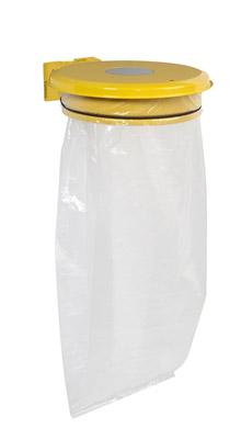 support sac poubelle avec trappe jaune rossignol prix. Black Bedroom Furniture Sets. Home Design Ideas