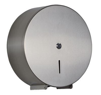 Distributeur papier toilette Jumbo acier inox brossé 42ae4925e83