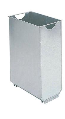bac interieur acier galvanise 60 litres poubelle rossignol. Black Bedroom Furniture Sets. Home Design Ideas