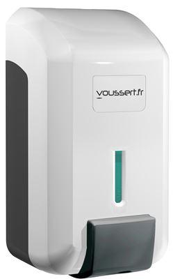 distributeur savon gel jvd cleanline blanc. Black Bedroom Furniture Sets. Home Design Ideas