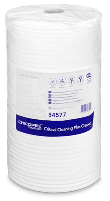 Chicopee Veraclean critical cleaning plus blanc creped bobine 400 F