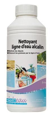 Nettoyant piscine ligne d 39 eau alcalin professionnel bidon for Nettoyant pvc professionnel