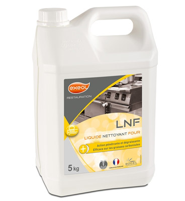Nettoyant four liquide professionnel lnf 5 l for Nettoyant pvc professionnel