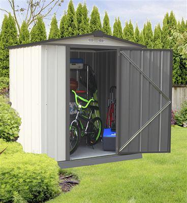 abri de jardin m tal arrow ez65. Black Bedroom Furniture Sets. Home Design Ideas