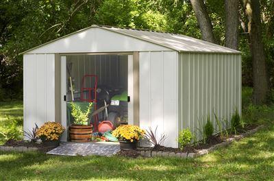 Abri de jardin metal Arrow OB1014 12 m2