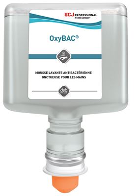 Savon mousse Deb oxybac Foam Wash antimicrobien 3 x 1200 ml