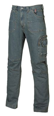 Pantalon de travail jean stretch