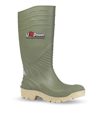 Botte de securite verte Upower elfo S5 SRC