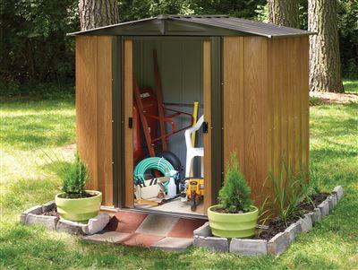 abri de jardin arrow wl65 2 5 m2. Black Bedroom Furniture Sets. Home Design Ideas