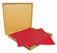 Acheter Nappe papier 60 x 60 cm rouge vif colis de 500