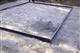 Acheter Base en acier pour serre murale 9,8 m2 Noir Juliana