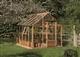 Acheter Serre de jardin Juliana classic 4,4m2 structure en bois verre trempé