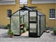 Acheter Serre de jardin Juliana Compact 5 m2 noire poly 6 mm