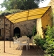 Acheter Tonnelle de jardin adossée 3 x 4 m promo