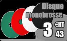 Disque noir monobrosse decapage sol 406 mm colis de 5