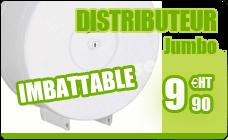 Distributeur papier toilette maxi jumbo acier basic