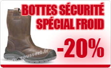 Botte securite froid Nordic Plus S3 CI SRC