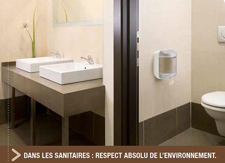 Distributeur papier toilette Lucart L one